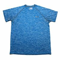 Under Armour Mens Loose Short Sleeve Active Tee Heather Blue Size Small