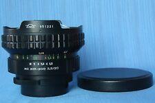"MIR 20 M 3.5/20 USSR""Flektogon M42 mount,excellent lens"