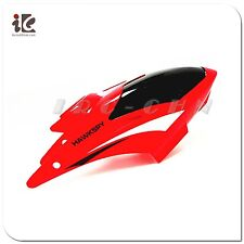 Red Color Head Cover Canopy LT-711 Video Camera Egofly HawkSpy RC Helicopter