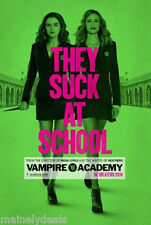 Vampire Academy 27x40 Double Sided DS Origina Movie Poster 2014