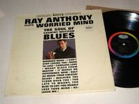 RAY ANTHONY Plays Worried Mind CAPITOL Stereo NM/NM-