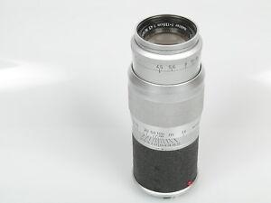 Leitz Leica Hektor M 4,5/135 135mm 1:4,5 E39 Filtergew. Späte A voll funktionsf.