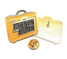Dinero en el banco Wwe, wwf, wcw, ecw, RAW, lucha libre Insignia Pin Esmalte De Hasbro