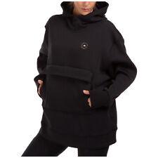Adidas by Stella McCartney felpa con cappuccio donna FU0737 nero collo alto