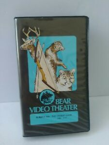 Vtg 1983 Bear Video Theater VHS Fred Bear Archery Hunting Video The Oldest Game