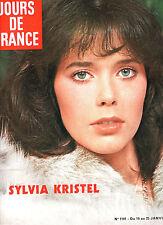 SYLVIA KRISTEL / EMMANUELLE * ALAIN DELON * JOURS DE FRANCE 1101 - Janvier 1976