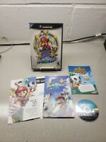 Super Mario Sunshine (GameCube, 2002) Fully Tested on Wii Complete in Case CIB