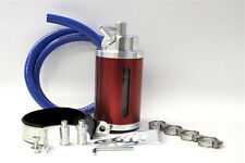Aluminum Oil Catch Can - Red