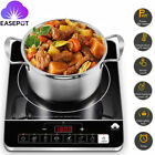 Portable Induction Cooktop 1800W Countertop Burner With Temp/ Power Levels Timer photo