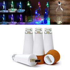 Cork Shaped Rechargeable USB LED Night Light Wine Bottle Lamp  Multi-Color