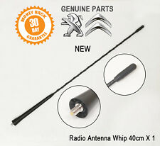 Peugeot 2008 206 301 306 307 406 Aerial Mast Antenna Whip 6561A0 New Genuine