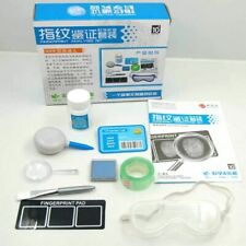 DIY Children Fingerprint Verification Analysis Kit Science Educational Toys Gift