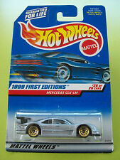 Hot Wheels 1999 New Editions MERCEDES CLK-LM #26/26 Mattel Wheels New In Pkt