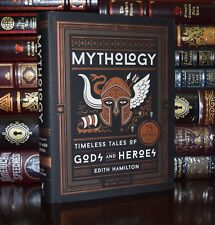 Mythology Greek Roman Norse Tales 75th Anniversary Illustrated Deluxe Hardcover