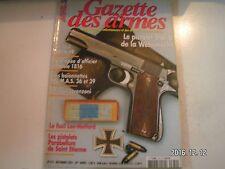 **b Gazettes des armes n°370 Fusil SAFN 49 / Epée d'officier modèle 1816