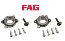 For Audi A4 A6 Quattro Allroad S6 S8 Pair Set of 2 Front Wheel Bearing Kits FAG