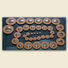 37 Deluxe Polster Tenorsaxophon Polsterset Saxophonpolster Kunststoffresonatoren