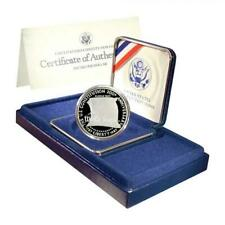 1987-S Constitution Commemorative Silver Dollar Proof