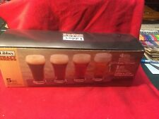 NEW! Libbey Craft Brews Beer Flight 5-Piece Set NIB