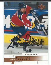 Lance Pitlick Signed 2000/01 Upper Deck Card #76
