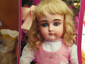 "8pg Kestner MISS DOLLY Doll History Article w/20"" Kestner Doll Jumper Pattern"