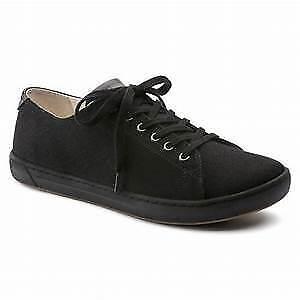 Birkenstock Women's ARRAN Black Textile Sneakers