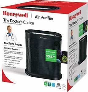 Honeywell HPA100 Air Purifier True HEPA Allergen Remover Black