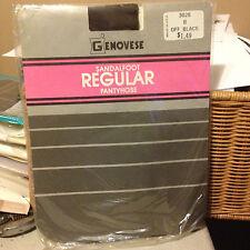 Beautiful!  Vintage Genovese off black pantyhose size b