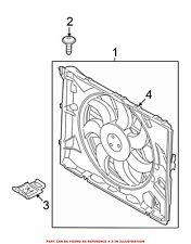 For BMW Genuine Engine Cooling Fan Shroud Bracket 17117521784