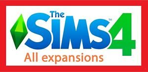 The Sims 4 All Expansion Packs   PC Windows Mac ✅ Guarantee ✅