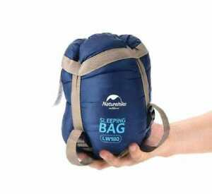Compact Ultralight Sleeping Bag Naturehike 0.87kg Large – Dark Blue (Left)