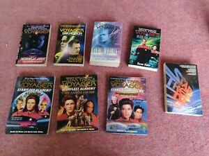 Star Trek Voyager Paperback Book Bundle
