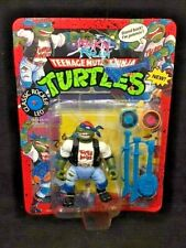 Playmates 1991 TMNT Classic Rocker LEO Teenage Mutant Ninja Turtles UNPUNCHED