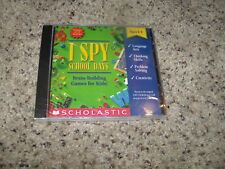 I Spy School Days (PC/MAC, 2000) New and Sealed in jewel case