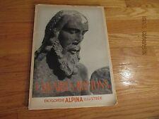 RARE 1937 ENCYCLOPEDIE ALPINA ILLUSTREE Les Calvaires Bretons HENRI WAQUET