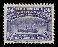 #71 Newfoundland Canada mint well centered
