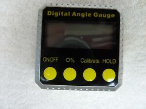 Pittsburgh digital angle gauge Pre-owned