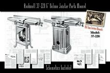 Rockwell 37 220 6 Deluxe Jointer Parts List User Manual