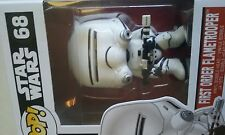 STAR WARS,68,VII,funko,pop,FIRST ORDER FLAMETROOPER,neuf