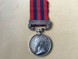 Original FS India General Service Medal 1854-95 with clasp to L-Corporal (68)