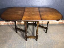 Oak Gateleg Drop Leaf Table