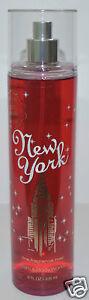NEW BATH & BODY WORKS NEW YORK BIG APPLE CARAMEL FINE FRAGRANCE MIST SPRAY 8 OZ