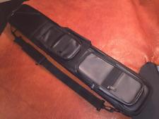 Soft Case 4x8 Pool Cue Case Black