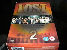 Lost - The Complete Second Series - DVD - 2006 - 7 Disc Box Set - Region 2 PAL