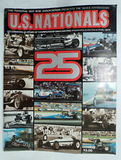 NHRA 1979 NATIONALS Drag Racing ANNUAL, INDIANAPOLIS RACEWAY PARK, 25th Annual