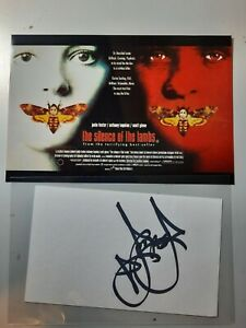 """Jodie Foster """"Silence of the Lambs"""" Original Authentic Autograph w/Photo"""