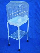 "Rolling Stand For 18"" x 14"" or 18"" x 18"" Bird Cage (Stand Only) White-852"