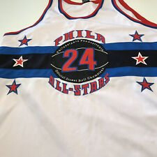 PHILA No. 24 ALL STARS Official Street Ball Champions (Size 56) Jersey White