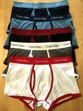 """Calvin Klein Cotton Stretch Boxer Trunks Men's MEDIUM (32"""" - 34"""" Waist) **NEW**"""