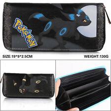 pokemon GO Umbreon Long Wallet Leather card holder Anime Purse cosplay Handbag